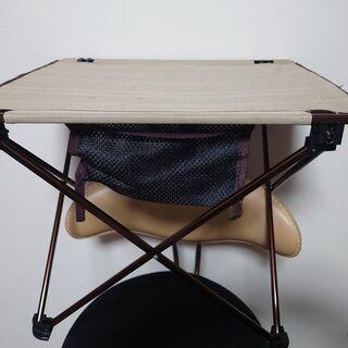 キャンプ用ロールテーブル