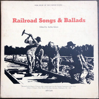 Railroad Songs & Ballads LP レ…