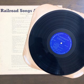 Railroad Songs & Ballads LP レコード - 京都市