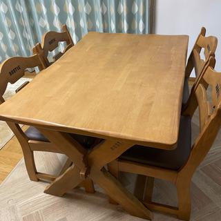 ダイニング テーブル&椅子セット カリモク