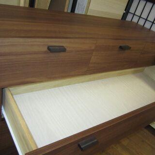R088 ユーアイ製 リビングチェスト、リビングボード、幅11cm 美品 − 愛知県