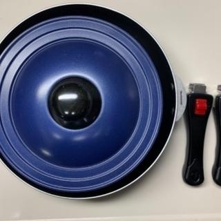 【未使用】バリエクック 取手のとれるフライパン・鍋セット