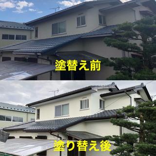 🏠屋根・外壁塗装🏠お見積り、ご相談無料です‼️