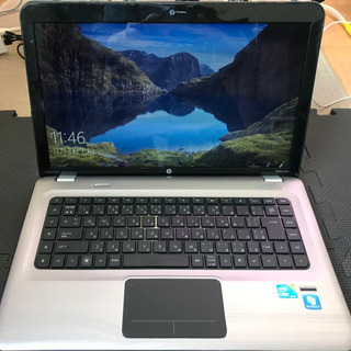 ノートパソコン WIN10 HP pavilion dv6 co...