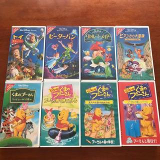 VHS ディズニー 8本セット