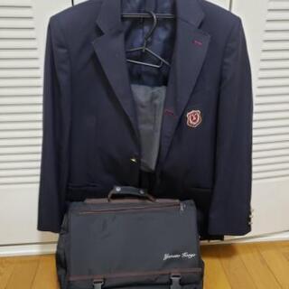 大和広陵高校 男子制服一式とカバン(値下げしました)