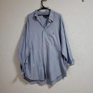 ラルフローレン オーバーサイズシャツ