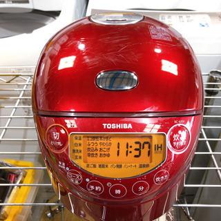 【124M4】東芝 IH炊飯ジャー  RC-6XM  ※キズあり