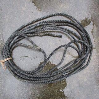 漁具 水に強いロープ 約7〜8m