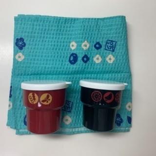 【未使用】ピングー お茶入れ&風呂敷セット
