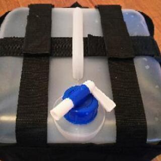 再出品 タープに使う重り(水タンク)