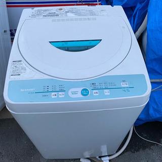 シャープ 4.5キロ洗濯機 中古 リサイクルショップ宮崎屋21.4.1
