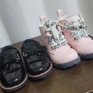 可愛い靴とブーツ H&M