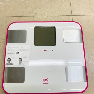 体重計 筋肉量、水分量、体脂肪率など測れます