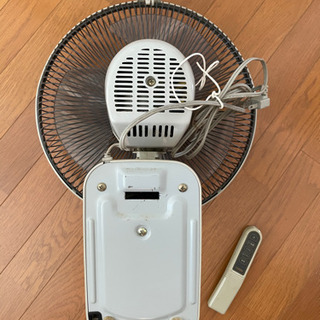 YUASA 壁掛け扇風機【譲り先が決まりました】 - 家電