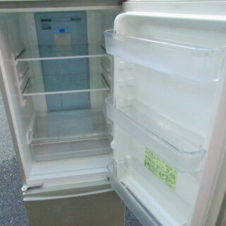 ☆シャープ SHARP SJ-PD17T-N 167L 2ドアノンフロン冷凍冷蔵庫 高濃度プラズマクラスター7000◆つけかえどっちもドア - 横浜市