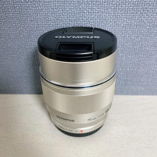 【美品】75mm f1.8 単焦点レンズ OLYMPUS