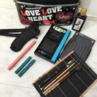 習字道具セット、小学生、女の子用、筆