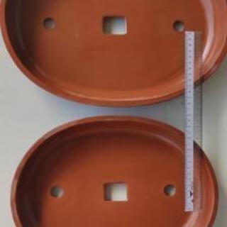 📣 水盤 二枚セット