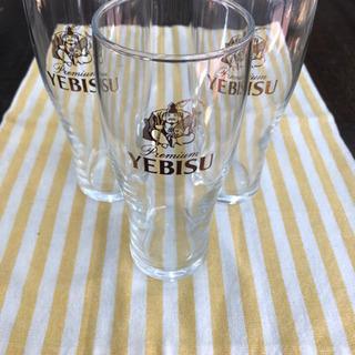 未使用品 YEBISU   多用途 グラス コップ 3点 …