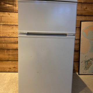 MORITA 2ドア冷蔵庫 88L 1500円