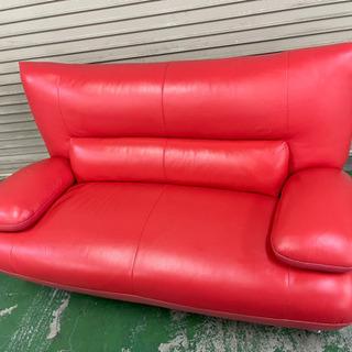 ソファ 赤 インテリア 家具