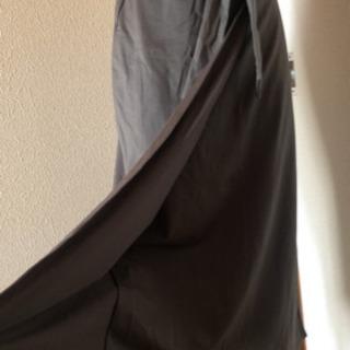 ライトオン巻きスカート風ロングスカート ストール