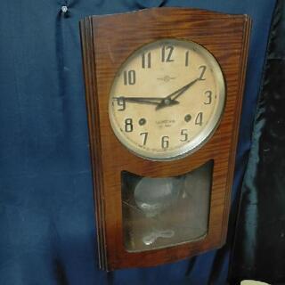 昭和レトロSEIKOSHA精工舎 ゼンマイ柱時計