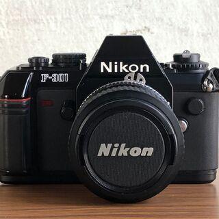 Nikon F-301 1眼レフフィルムカメラ 動作未確認…