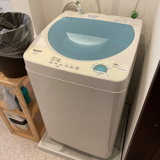 洗濯機 SHARP ES-FL45 4.5kg