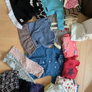 女の子 服 90、95
