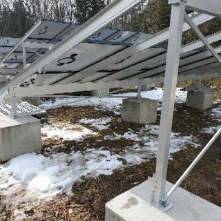 太陽光発電施設での雑用