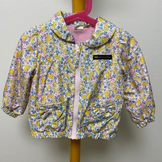 女の子 薄手のジャケット