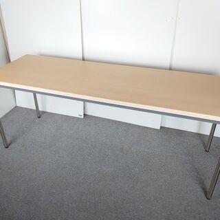 S11 テーブル 長机 会議用 ミーティングテーブル 180㎝幅 木目