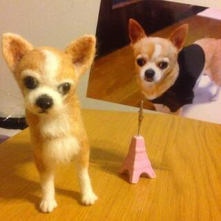 ★羊毛フェルトで愛犬を制作!板橋区練馬区