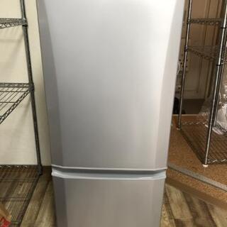 【美品】【値下げ】三菱ノンフロン冷凍冷蔵庫 MR-P15E-S1...