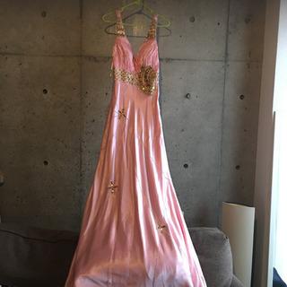 【ネット決済】バックシャンも素敵な美品ロングドレス♡