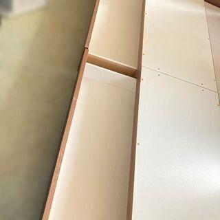 NITORI/ニトリ シングルベッド カイトシリーズ ミドルブラウン 98×210×90cm 【自社配送は札幌市内限定】倉庫保管 − 北海道