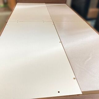 NITORI/ニトリ シングルベッド カイトシリーズ ミドルブラウン 98×210×90cm 【自社配送は札幌市内限定】倉庫保管 - 家具
