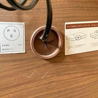 NITORI/ニトリ シングルベッド カイトシリーズ ミドルブラウン 98×210×90cm 【自社配送は札幌市内限定】倉庫保管 - 売ります・あげます