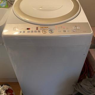 【ネット決済】乾燥機付き洗濯機(ジャンク品)0円