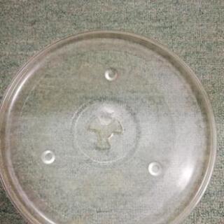【ネット決済・配送可】電気レンジ用丸皿
