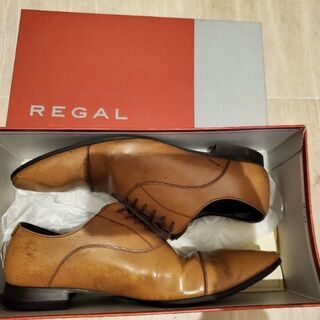 REGAL 26cm リーガル 革靴 ブラウン ブランド …