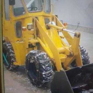4WD ヤンマー除雪機 ローダ