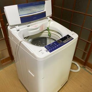 中古 2014年製 日立全自動洗濯機 7.0K   BW-7SV