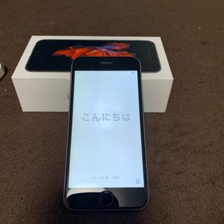 【ネット決済・配送可】iPhone6s 32G スペースグレー