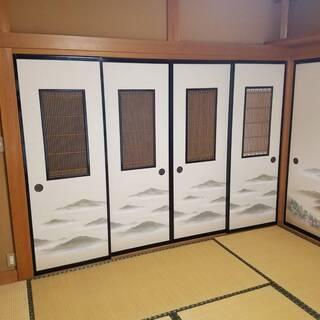壁紙・ふすま張り替えます!お部屋の内装きれいにしませんか?