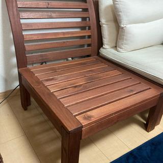 ソファ 木製 3人用 - 香芝市
