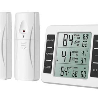 【ネット決済・配送可】【ほぼ新品】デジタル温度計