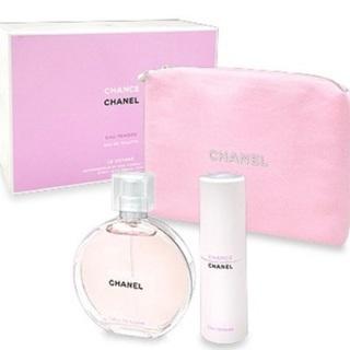 チャンス オータンドゥル 香水セット チャネルポーチ